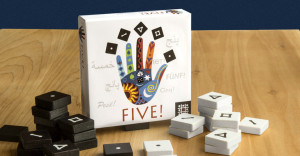 Give five Spieleschachtel