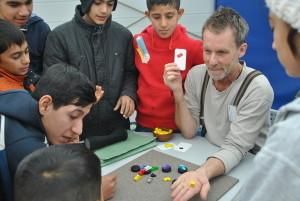 Steffen Spiele Flüchtlinge 1