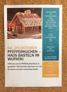 Aktion Pfefferkuchenhaus